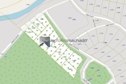 Imagen 1 de 1 de Terreno En Venta Club Del Lago ( Punta Ballena)  -ref:1539