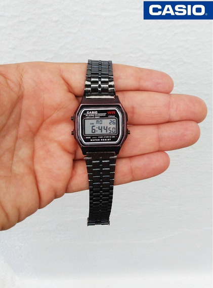 Relógio De Pulso Wr Unissex Retrô Vintage A168 Várias Cores.