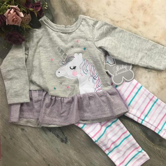 Baby Essentials Ropa Para Bebe 9 Meses Camiseta Y Pantalon