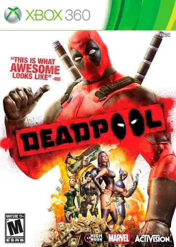 Jogo Novo Lacrado Deadpool The Game Para Xbox 360 Ntsc