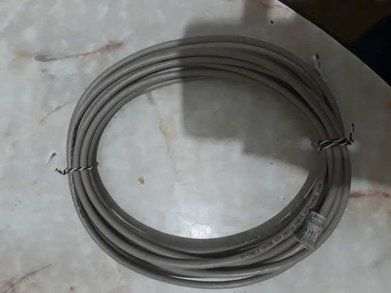 Cable De Red Utp Interior X 5 Mts Armado