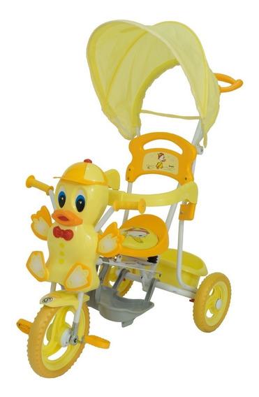 Triciclo Bebe Patito Musical Bebitos Xg-3413v
