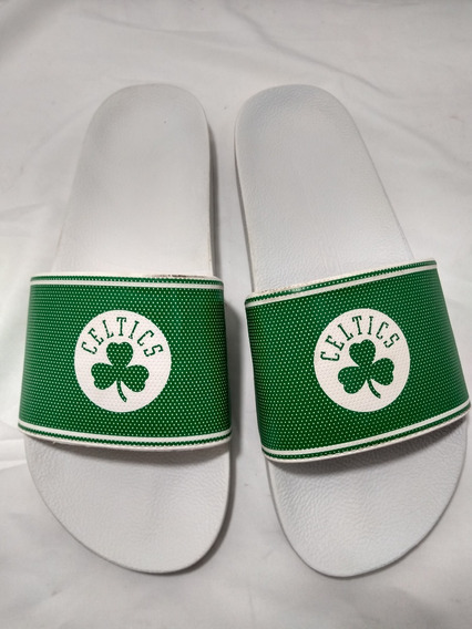 Chinelo Masculino Rider Nba Celtics Branco/verde 11170
