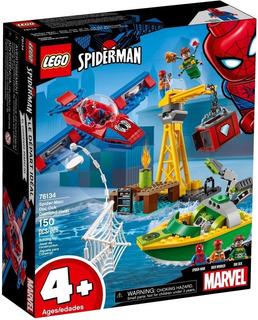 Lego Spidrman Doctor Corpus Y Diamond Heist 76134 Nuevo!!!