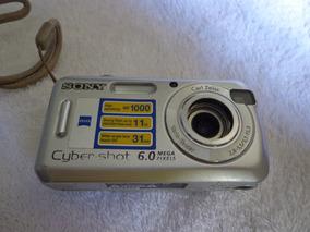 Camera Sony Cyber Shot Dsc-s600 - Usada