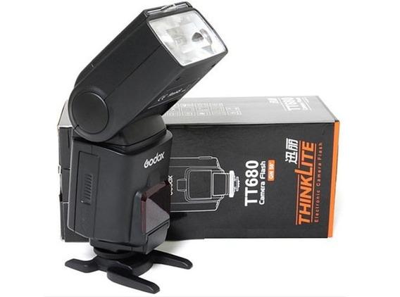 Flash Speedlite Godox Tt680 Ttl Para Nikon (ttl/hss)