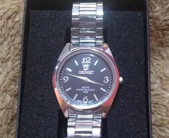 Relógio Masculino Original Prata A Prova D