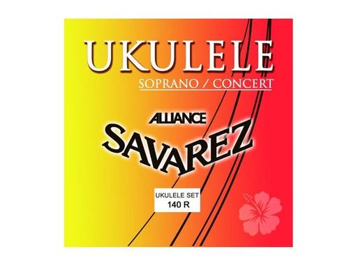 Imagen 1 de 2 de Savarez 140r Ukelele Encordado Cuerdas Alliance