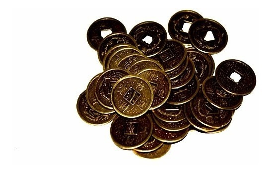 Monedas Feng Shui X 3 Atrae Suerte Mediana Rincondeluz2008
