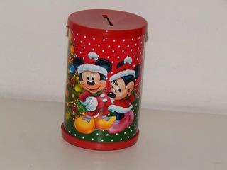 30 Cofres Natal Mickey E Minnie Papai Noel Brindes Ano Novo