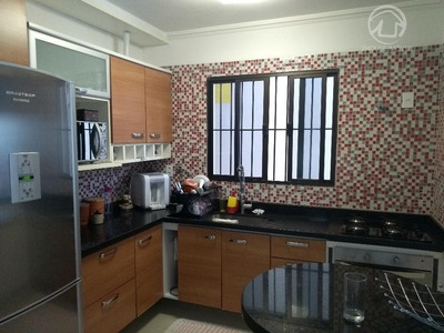 Casa Com Piscina No Jardim Pacaembu, Em Jundiaí - Estuda Permuta Com Apartamento De Menor Valor - Ca2628