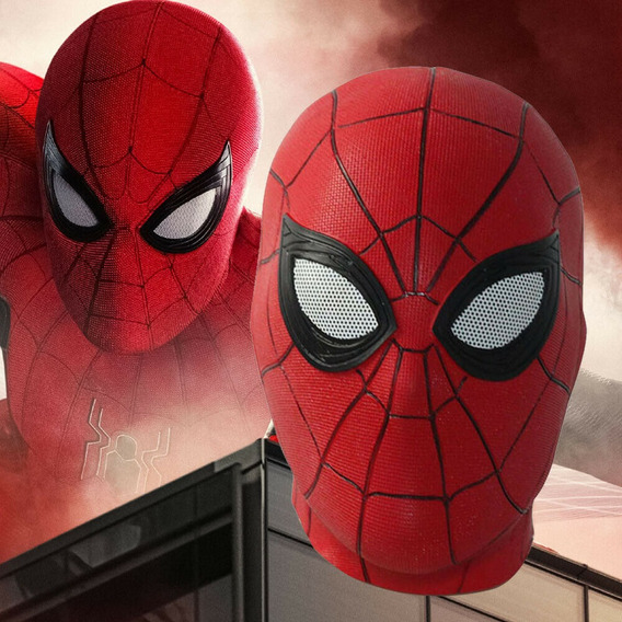 Máscara De Spider Man Para Cosplay Fiesta