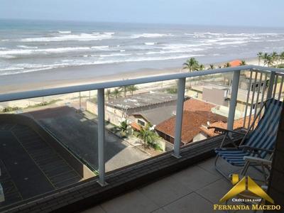 Apartamento De Frente Para O Mar Em Condomínio Clube No Centro De Itanhaém - Ap00003 - 34142811