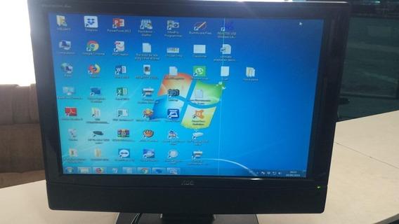 Monitor Tv 22 Polegadas Lcd Aoc L22w631 (leia O Anuncio)