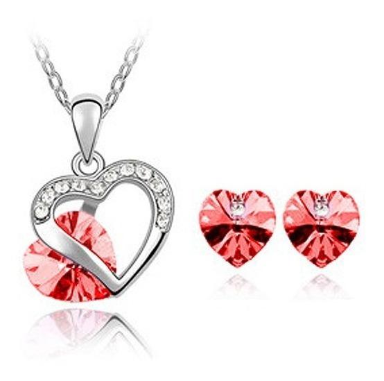 Juego Con Cristales, Ocean Heart Oh15-171