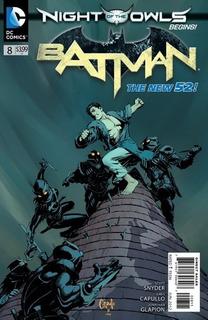 Batman La Noche De Los Buhos Parte 2 - Dc Comics