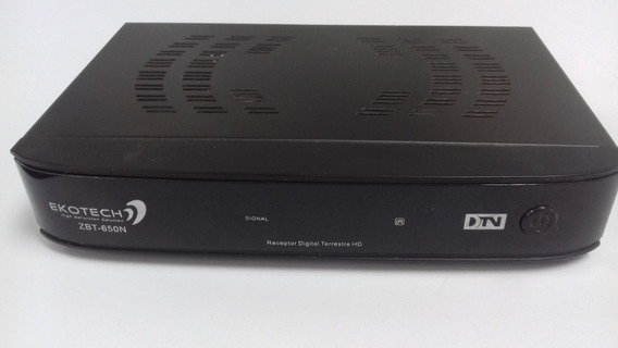 Receptor Digital Ekotech Zbt-650n