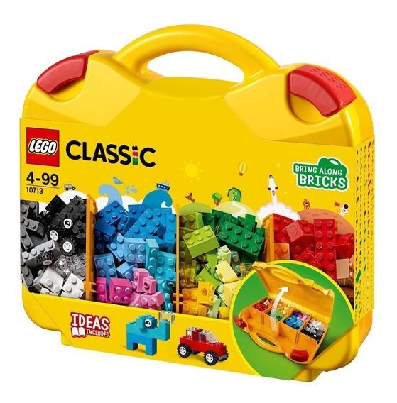 Maleta Criativa Blocos De Montar Lego Classic 10713