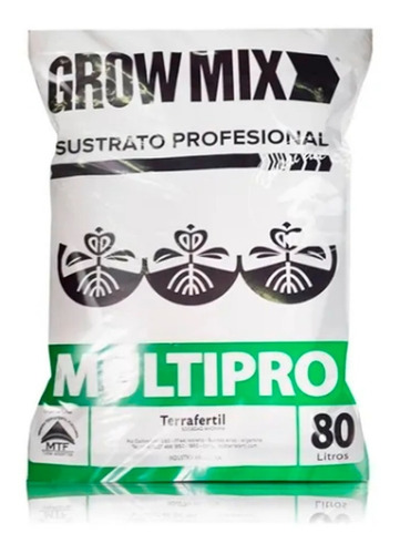Sustrato Growmix Multipro 80l - Morocco Growshop