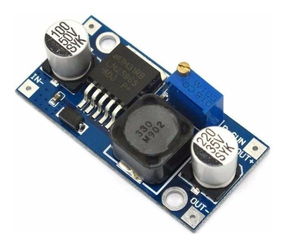 Regulador Conversor Tensão Lm2596 Dc-dc Step-down 3a Arduino