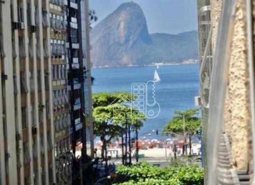 Apartamento Com 2 Dormitórios À Venda, 89 M² Por R$ 635.000,00 - Icaraí - Niterói/rj - Ap3061