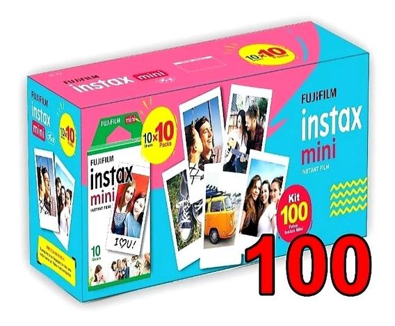 Filme Instax 100 Poses Novas Embalagens, Entrega Rápida.