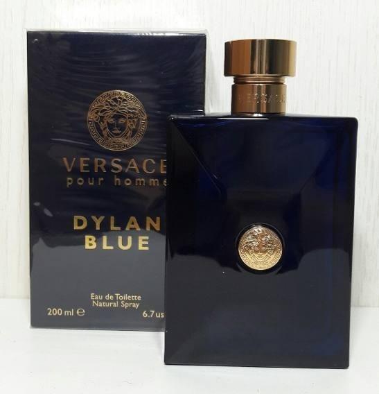 Versace Dylan Blue Masculino Eau De Toilette 200ml