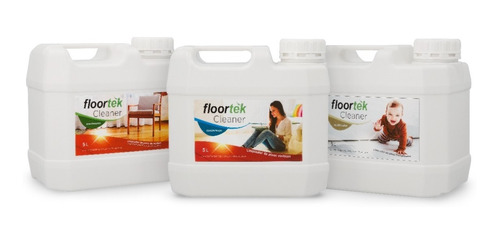 Imagen 1 de 5 de Cleaner Floortek 5l Hidrolaqueado/vinilico