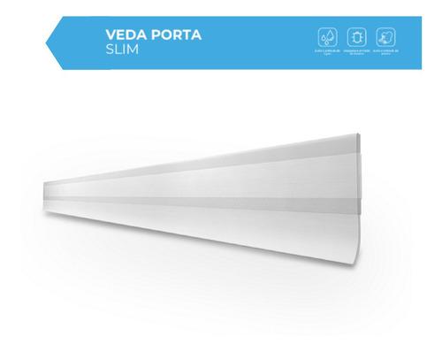 Imagem 1 de 8 de Rodinho Vedador Autoadesivo Duradouro Transparente 80cm