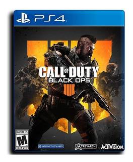 Call Of Duty Ps4 Black Ops 4 Español Disponible