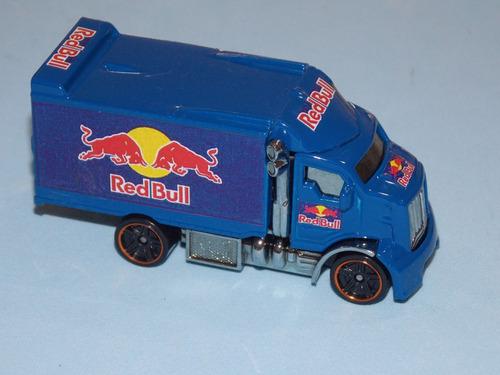 Truck Red Bull Custom.único Do Ml.hw Truck 1.64.novo.8cm .