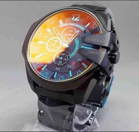 Relógio Dz4318 Preto Camaleão Original