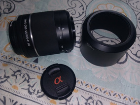 Lente Sony Dt 4-5.6/55-200 Sam