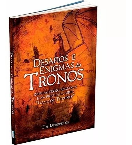 Desafios Enigmas Dos Tronos Inspirado Game Of Thrones