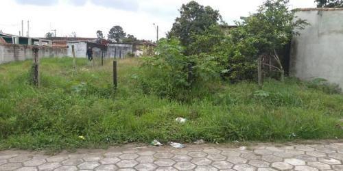 Terreno No Bairro Jardim Umuarama, Em Itanhaém, Litoral Sul