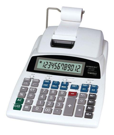 Calculadora De Impressao Procalc Pr3500 12 Dígitos - Bivolt