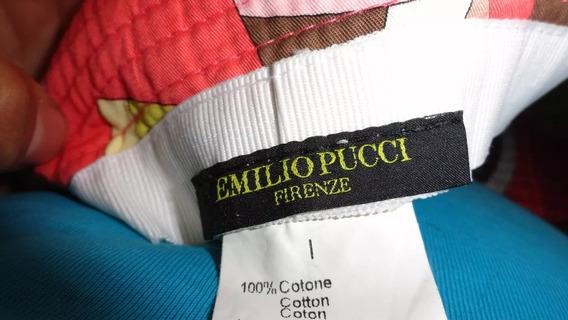 Ucci Sombrero Emilio Pucci Seminuevo Italiano Vuitn Coah ¡¡¡