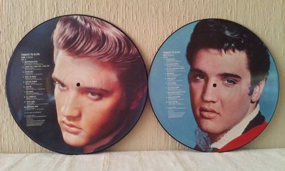 Elvis Presley - Tribute To Elvis 2 Vinilos Picture Disc Uk!