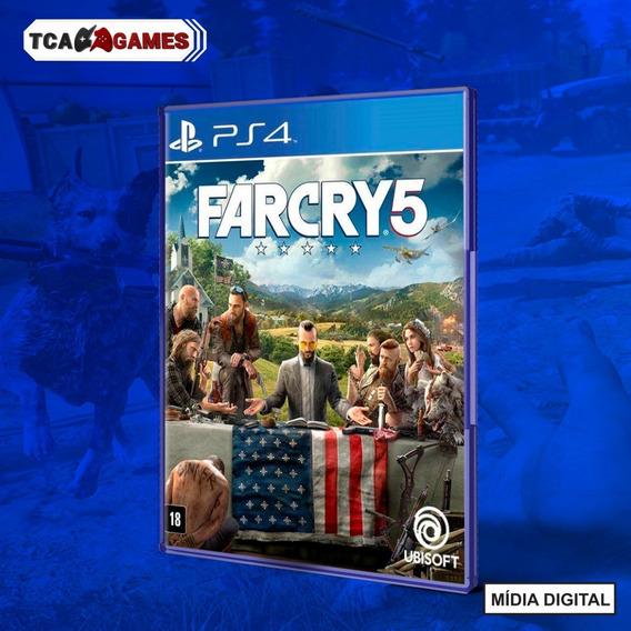 Far Cry 5 Ps4 Mídia Digital
