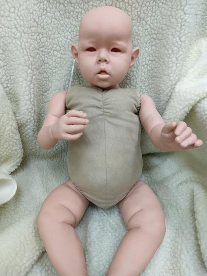 Corpinho Para Bebê Reborn Liam 28 Polegadas - Suede Grosso