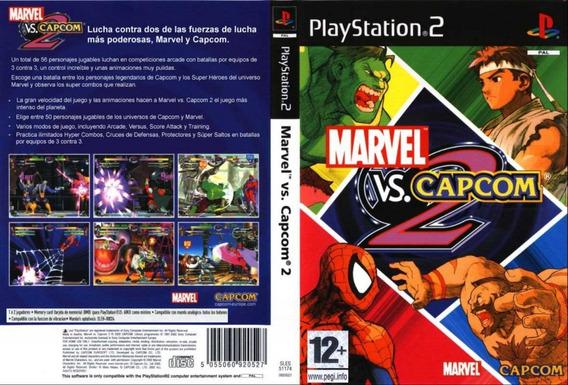 Marvel Vs. Capcom 2 - Ps2 - Patch