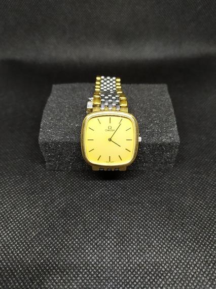 Reloj Elegante Atemporal Lujo Omega De Ville