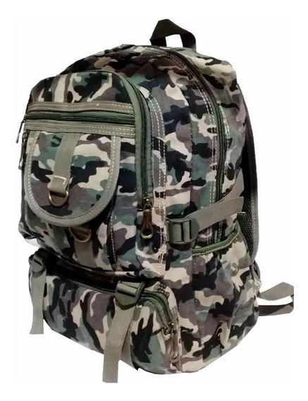 Mochila Tática Militar Camuflada Exercito Reforçada 29l