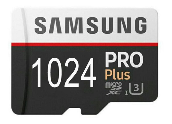 Cartão Micro Sd Pro Plus Samsung 1024 Gigas 1 Terabayte
