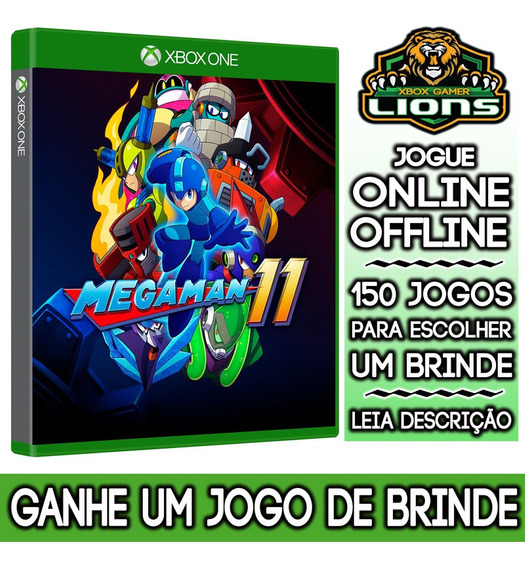 Mega Man 11 Xbox One + Brinde