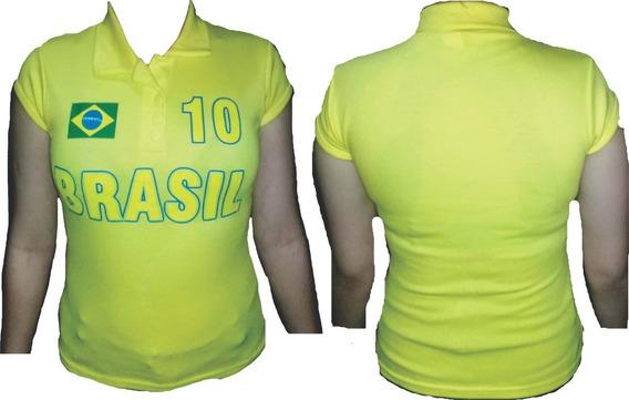 Camisa Do Brasil, Baby Look, Poucas Unidades, Promoção,