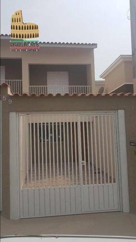 Sobrado Com 2 Dormitórios À Venda, 77 M² Por R$ 240.000,00 - Wanel Ville - Sorocaba/sp - So0083