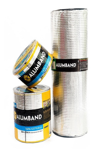 Cinta Para Teja Eternit Tapagotera 33 Cm*5m Aluminio
