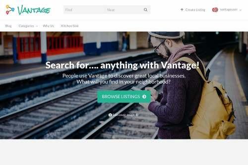 Site Guia Comercial E Diretório De Empresas - Tema Vantage