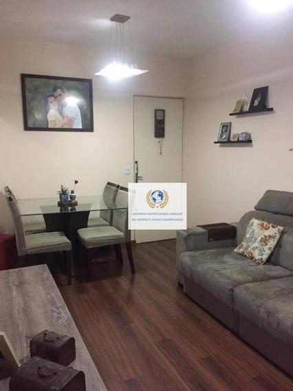 Apartamento Com 2 Dormitórios À Venda, 45 M² Por R$ 205.000,00 - Jardim Santa Terezinha (nova Veneza) - Sumaré/sp - Ap0627